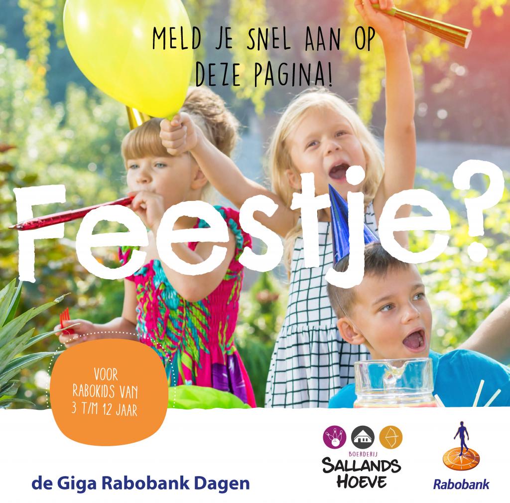 Rabobank Giga Dagen uitnodiging