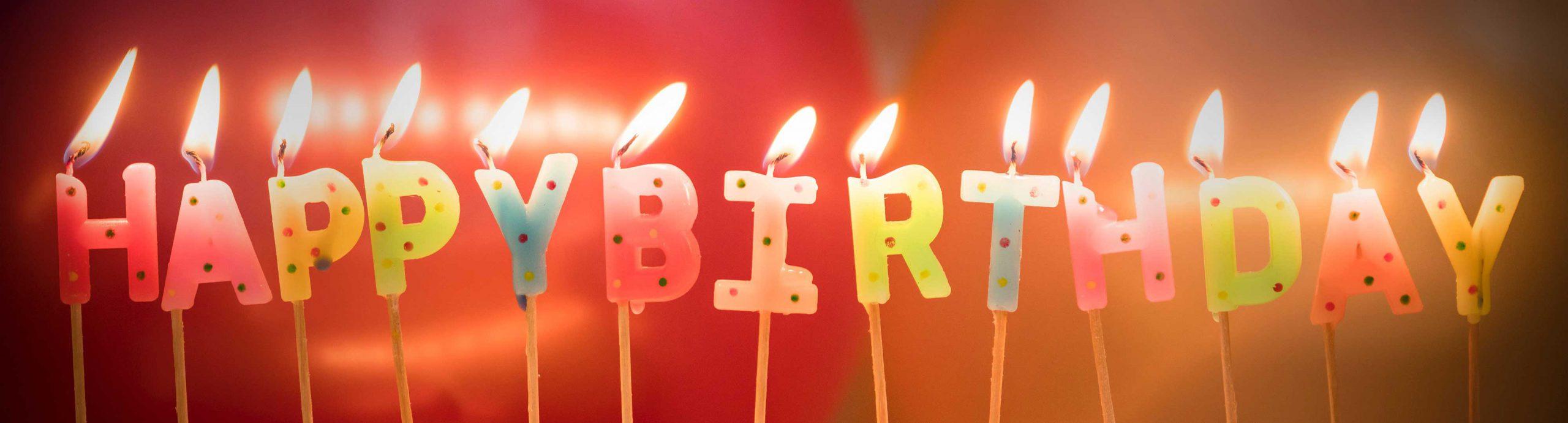 Verjaardag of jubileum